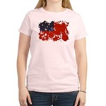 Samoa Flag Women's Light T-Shirt