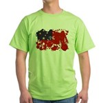 Samoa Flag Green T-Shirt