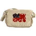 Samoa Flag Messenger Bag