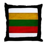 Lithuania Flag Throw Pillow