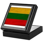 Lithuania Flag Keepsake Box