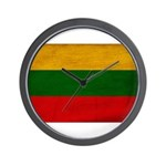 Lithuania Flag Wall Clock