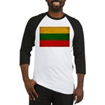Lithuania Flag Baseball Jersey