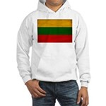 Lithuania Flag Hooded Sweatshirt