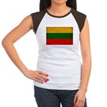 Lithuania Flag Women's Cap Sleeve T-Shirt