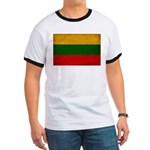 Lithuania Flag Ringer T