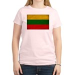 Lithuania Flag Women's Light T-Shirt
