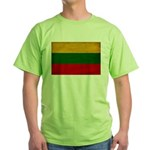 Lithuania Flag Green T-Shirt