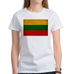 Lithuania Flag Women's T-Shirt