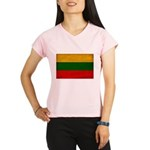 Lithuania Flag Performance Dry T-Shirt
