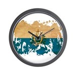 San Marino Flag Wall Clock