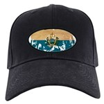 San Marino Flag Black Cap