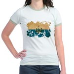 San Marino Flag Jr. Ringer T-Shirt