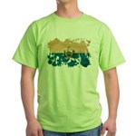 San Marino Flag Green T-Shirt