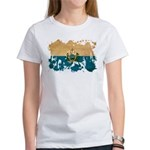 San Marino Flag Women's T-Shirt