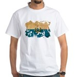 San Marino Flag White T-Shirt
