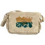 San Marino Flag Messenger Bag