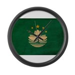 Macau Flag Large Wall Clock