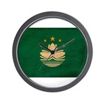 Macau Flag Wall Clock