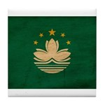 Macau Flag Tile Coaster