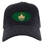 Macau Flag Black Cap