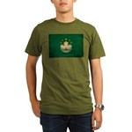 Macau Flag Organic Men's T-Shirt (dark)