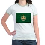 Macau Flag Jr. Ringer T-Shirt