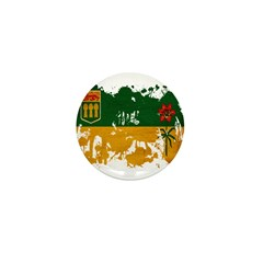 Saskatchewan Flag Mini Button
