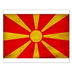 Macedonia Flag Small Poster