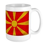 Macedonia Flag Large Mug