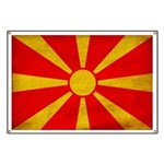 Macedonia Flag Banner