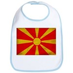 Macedonia Flag Bib