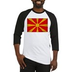 Macedonia Flag Baseball Jersey