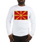 Macedonia Flag Long Sleeve T-Shirt