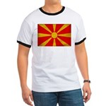 Macedonia Flag Ringer T