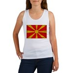 Macedonia Flag Women's Tank Top