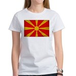 Macedonia Flag Women's T-Shirt