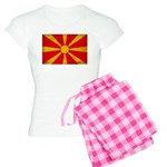 Macedonia Flag Women's Light Pajamas
