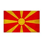 Macedonia Flag 22x14 Wall Peel