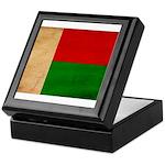 Madagascar Flag Keepsake Box