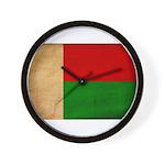 Madagascar Flag Wall Clock