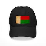 Madagascar Flag Black Cap