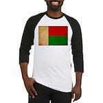 Madagascar Flag Baseball Jersey