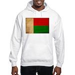 Madagascar Flag Hooded Sweatshirt