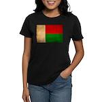 Madagascar Flag Women's Dark T-Shirt
