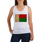 Madagascar Flag Women's Tank Top