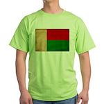 Madagascar Flag Green T-Shirt
