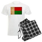 Madagascar Flag Men's Light Pajamas