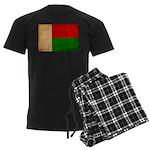Madagascar Flag Men's Dark Pajamas
