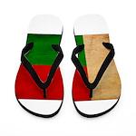 Madagascar Flag Flip Flops